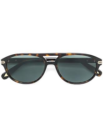 Brioni Óculos de sol aviador - Marrom