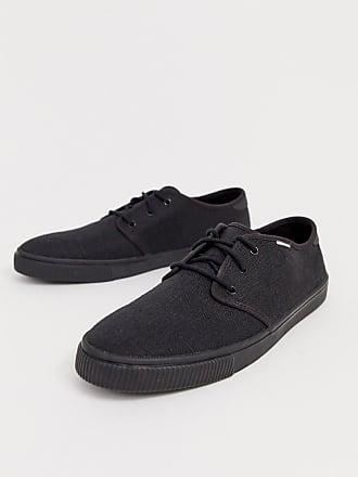 94a8918e10 Toms Zapatillas con cordones de lona en negro de TOMS