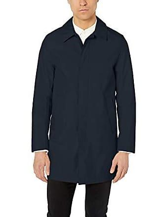 J.Lindeberg Mens Water Resistant Cotton Coat, JL Navy, Medium