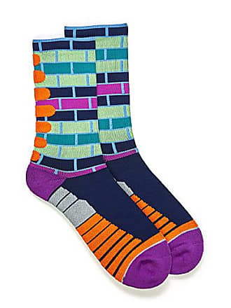 Unsimply Stitched Colourful brick athletic socks