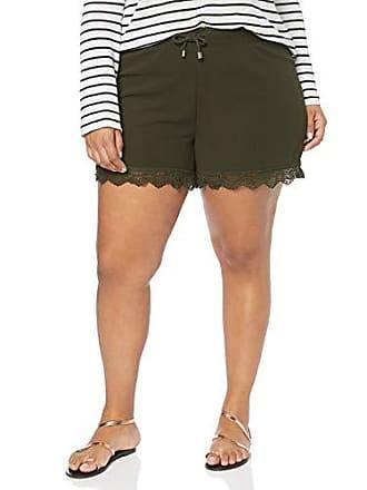 e81b2291918d0 Junarose Damen Jriberis Mw S Shorts, Grün Ivy Green,  W34(Herstellergröße:Oversize