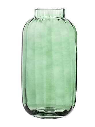 Bloomingville Glass Vase - Green - 32cm