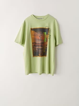 Acne Studios FN-MN-TSHI000049 Pale green Printed t-shirt