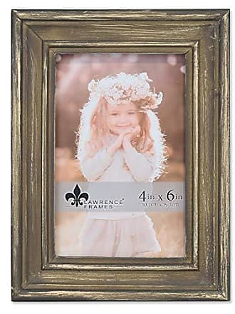 Lawrence Frames Lawrence Woods Picture Frame, 4x6, Brown