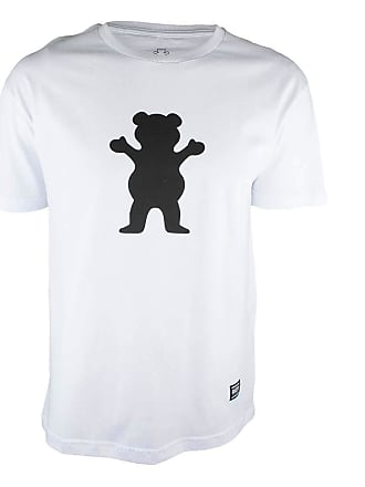Grizzly Camiseta Grizzly OG Bear Logo - Branco-GG