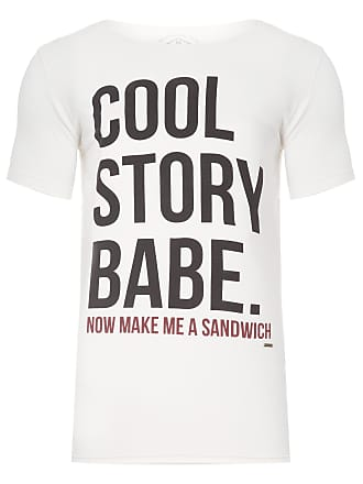 PURPLE YELLOW CAMISETA MASCULINA COOL STORY BABE - OFF WHITE