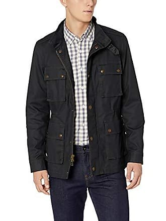 Goodthreads Mens Moto Jacket, Black, X-Large