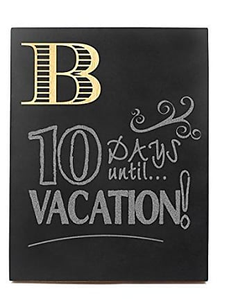 Cathy's Concepts Personalized Chalkboard Sign, Letter B