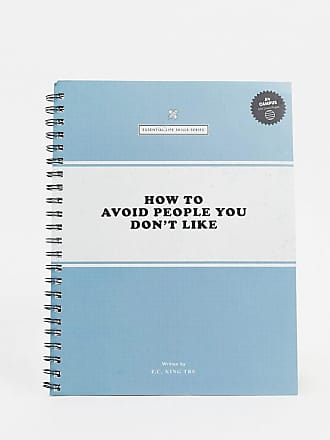 Typo Typo - Blocco per appunti A4 How to avoid people-Multicolore
