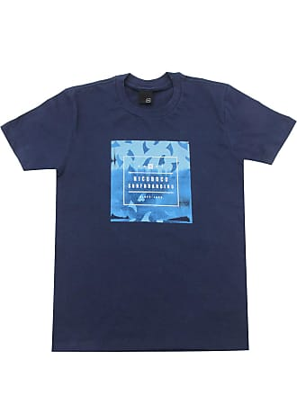 NICOBOCO Camiseta Nicoboco Menino Frontal Azul