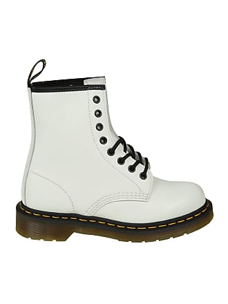 Dr. Martens White 1460 Smooth boots