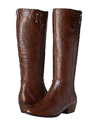 Dr. Scholls Womens Brilliance Riding Boot, Whiskey, 6 M US
