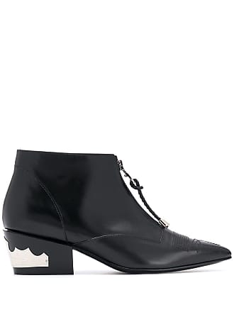 Toga Archives zipped western boots - Preto