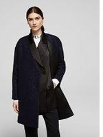 Karl Lagerfeld Sequin Coat W/ Gilet