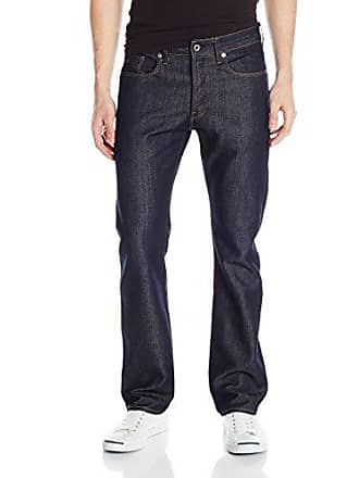 cebb125ae9b G-Star Mens 3301 Slim Straight Fit Jean In Neill Denim Raw, Raw,