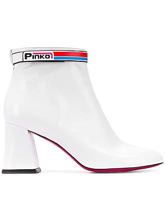 8cefd502714b9 Pinko Stivaletti con logo - Di Colore Bianco