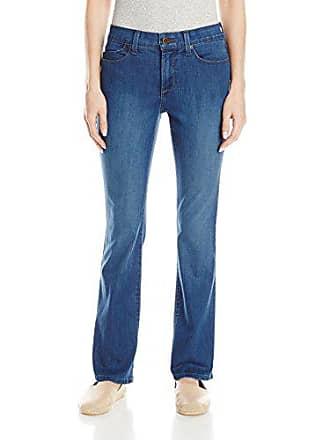 NYDJ Womens Petite Billie Mini Bootcut Jeans, Valencia, 4