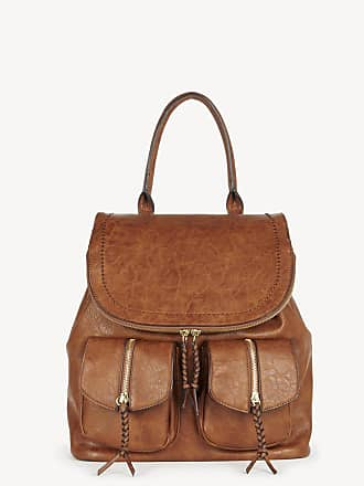 Sole Society Womens Emery Backpack Vegan Leather Brown One Size From Sole Society