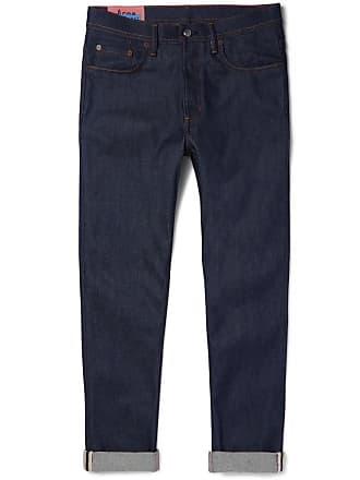 Acne Studios River Tapered Stretch-denim Jeans - Indigo