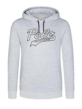 Polo Ralph Lauren Übergröße   Polo Ralph Lauren, Sweatshirt Mit Polo-Aufschrift  in Grau 038bc9ab53