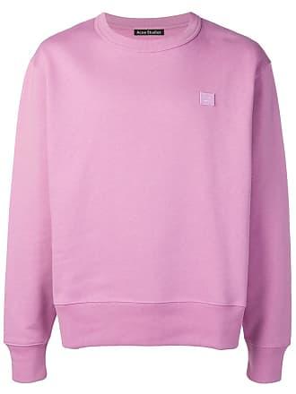 Acne Studios Fairview Face sweatshirt - Roxo