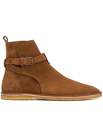 Wyatt flat Saint Jodhpur Marron Laurent boots WYnSr6WR