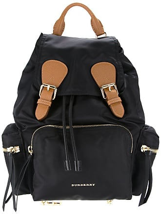 1b1338cce7c0 Burberry The Medium Rucksack in Technical Nylon and Leather - Black