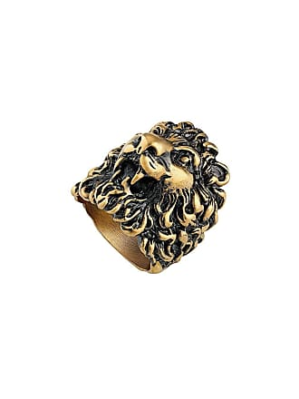 1970e6d0f Gucci Ring with lion head - Gold