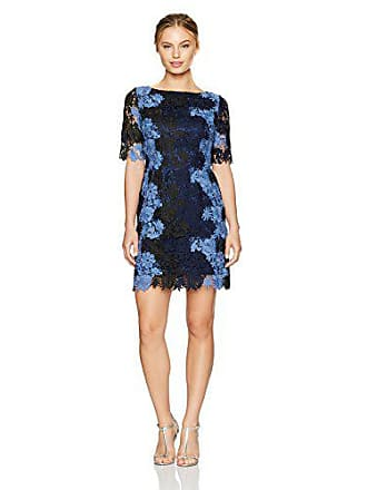 c9ec44d8 Tahari by ASL Womens Petite Size All Over Lace 3/4 Sleeve Sheath Dress,