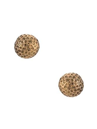 Fillity Par de brincos redondos - Dourado