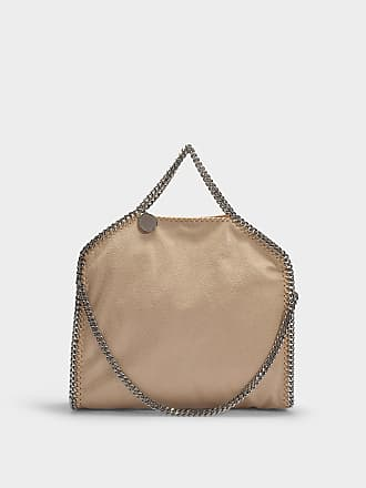 02ab32740cad Stella McCartney 3 Chains Falabella Tote in Clotted Cream Eco Leather