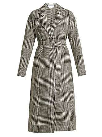 Gabriela Hearst Souza Cashmere Belted Coat - Womens - Black White