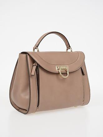 0652c2e15662 Salvatore Ferragamo Leather RAINBOW Top Handle Bag size Unica
