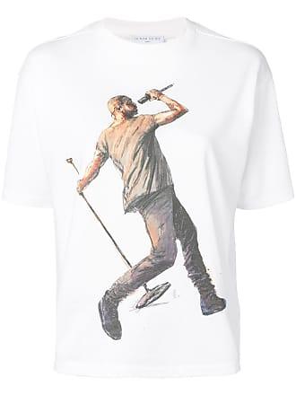 Ih Nom Uh Nit printed Kanye and Drake T-shirt - White
