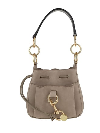 c8b79c0fdc997 See By Chloé Tony Small Shoulder Bag Motty Grey Beuteltasche grau