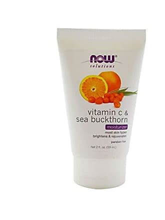 Now Foods NOW Solutions, Vitamin C and Sea Buckthorn Moisturizer, Brightening and Rejuvenating, 2-Ounce