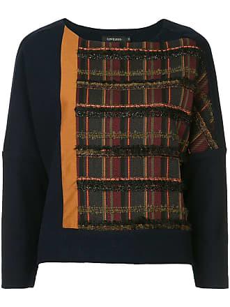 Loveless Suéter com recorte - Azul