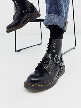 Dr martens 1460 smooth leather lace up boots (With images