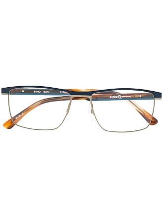 Etnia Barcelona Armação de óculos retangular - Azul