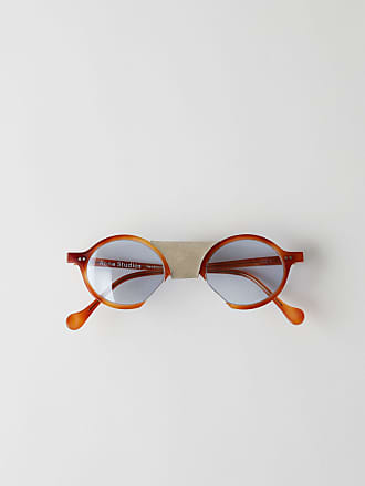 Acne Studios FN-UX-EYEW000009 Pumpkin/light blue Oval eyewear