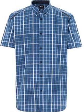 Oakley Mens Local Plaid Shirt