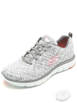 Skechers Tênis Skechers Flex Appeal Reflextion Cinza