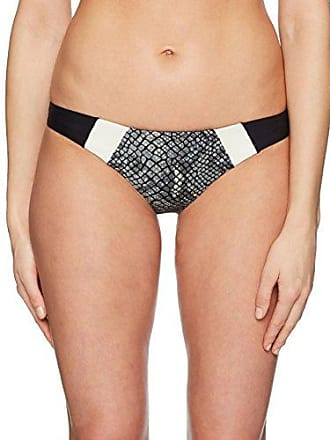 e1a6eabd1d0 PilyQ Womens Color Block Banded Full Bikini Bottom, boa, Small