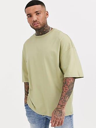 Bershka Join Life - Hellgrünes Oversize-T-Shirt