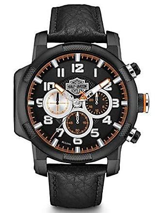 Bulova Relógio Masculino Bulova Harley Davidson WH30555P - Preto