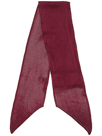 Tom Ford Lenço slim - Vermelho