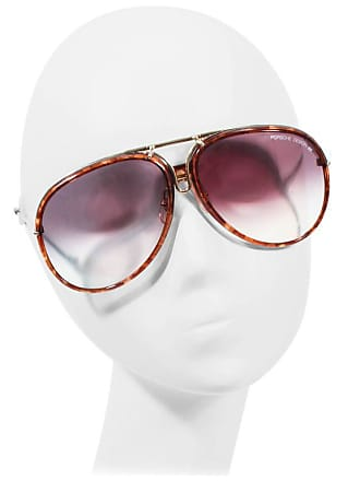34e0067a0f1b Porsche Design Porsche Carrera Vintage Gold   Brown Interchangeable Frame  Aviators 135 Large