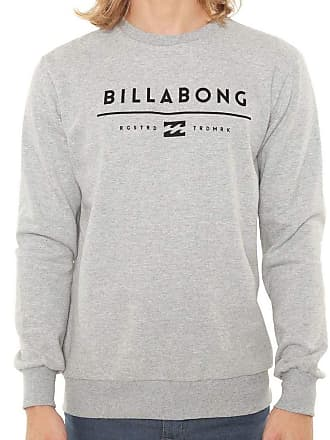 Billabong Moletom Billabong Originals Basic Cinza