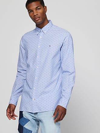 Chemises Tommy Hilfiger – Homme Chemise regular fit en coton Dusty Rose Chemises, Homme