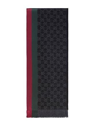 4c0332fa1053 Gucci Écharpe tricotée jacquard motif GG